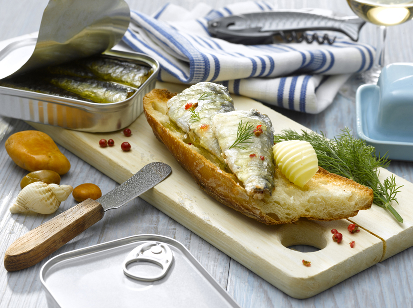 Conserves de poissons nutriments et vitamines en stock - Conserve de sardines maison ...