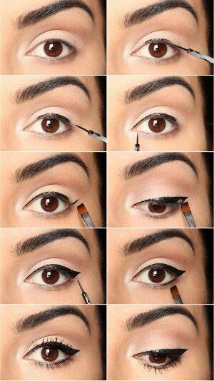 Kh l et eyeliner pour un maquillage parfait for Perfect comment for a picture