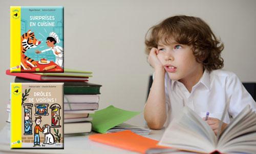 Des ouvrages pour les enfants dyslexiques