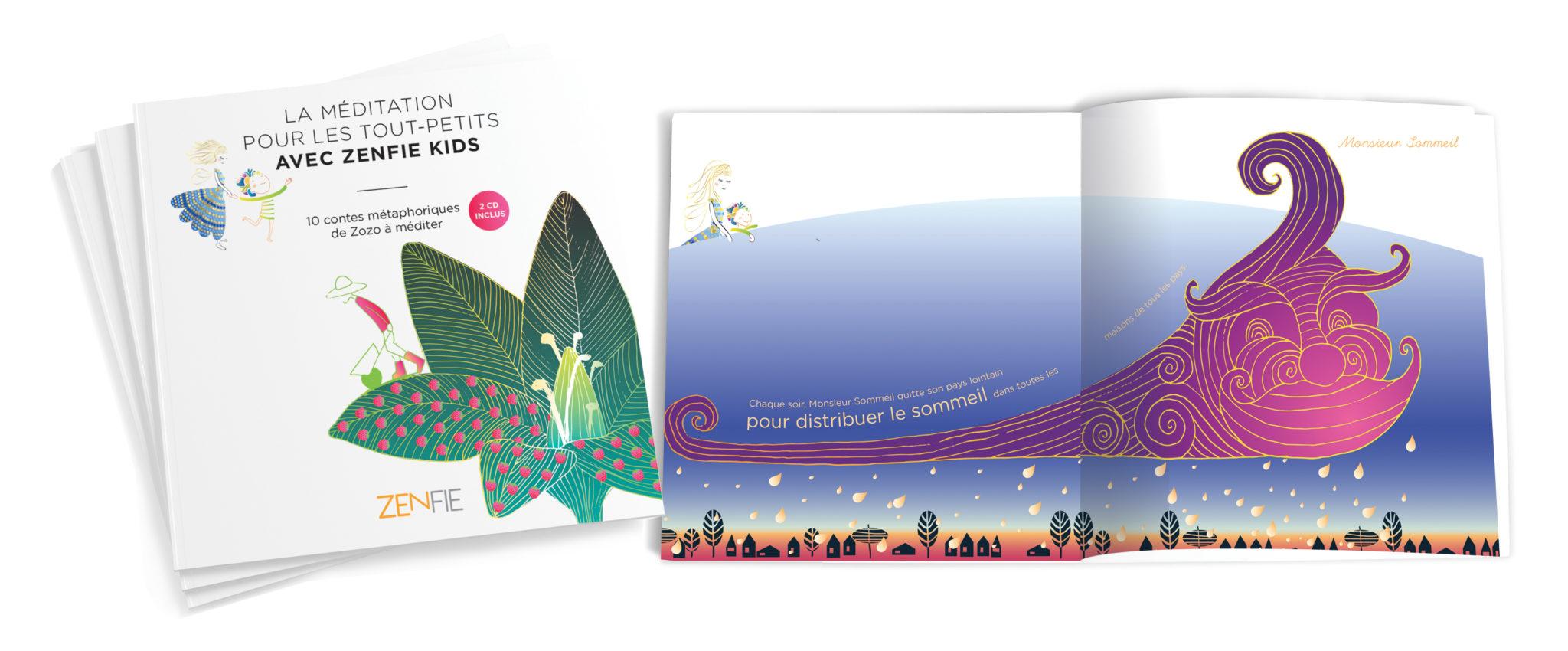 Concours : A gagner 10 livres/CD La méditation pour les tout-petits