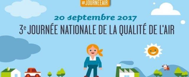 Journée nationale de la qualité de l'air : plus de 140 événements