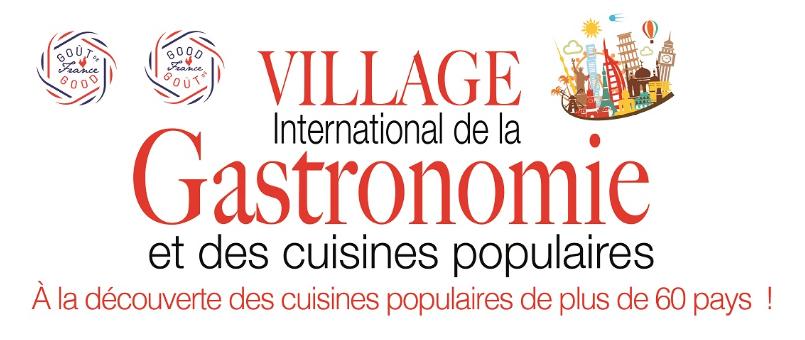 Le Village International de la Gastronomie s'installe au pied de la Tour Eiffel