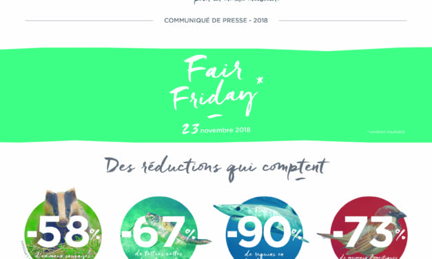 Fair Friday, le 23 novembre de Nature & Découvertes