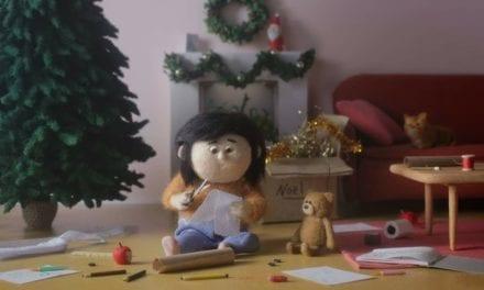 Avec  » Un cadeau pas comme les autres», Greenpeace se met à hauteur d'enfant pour dénoncer la pollution de l'air