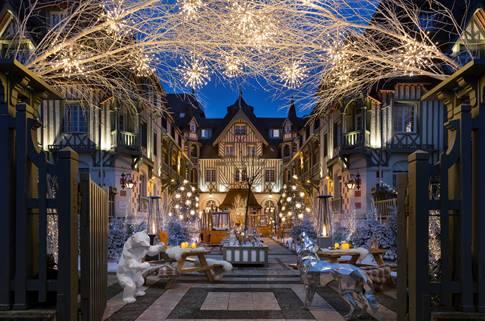 « Le Jardin Les Neiges » à l'Hôtel Barrière Le Normandy