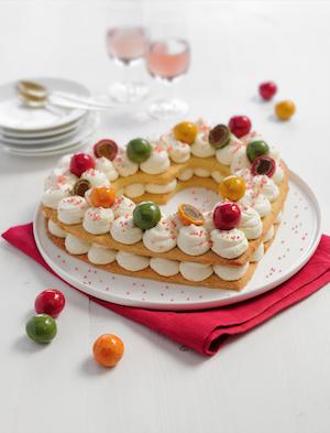Heart Cake aux Pommes d'Amour