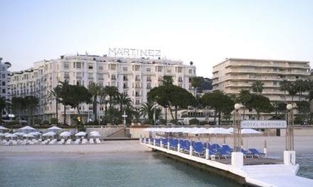 Ouverture de la nouvelle plage du Martinez à Cannes