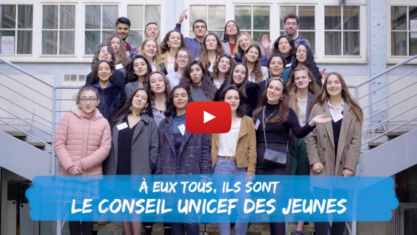 L'UNICEF crée son 1er Conseil des jeunes