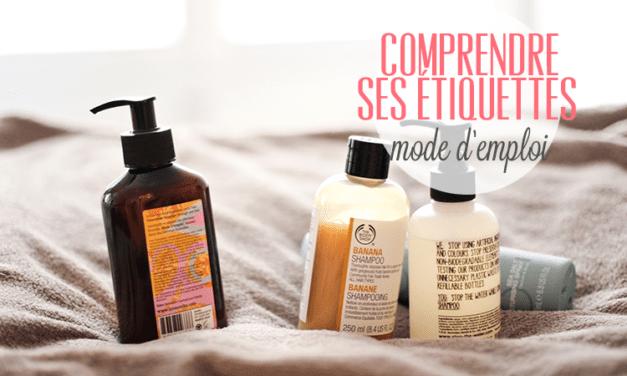 Décrypter les étiquettes des cosmétiques
