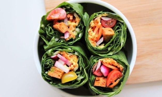 La recette des wraps veggies