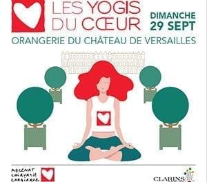 Les Yogis du Cœur au Château de Versailles