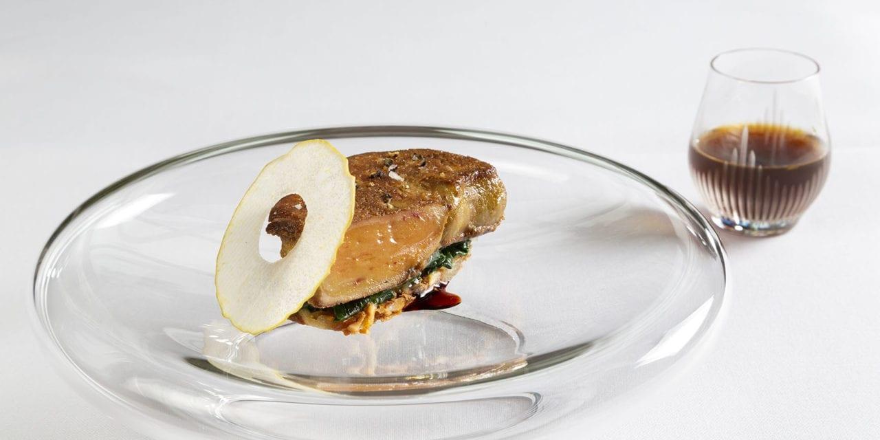 Grillade de Foie Gras de Canard au Baerawecka