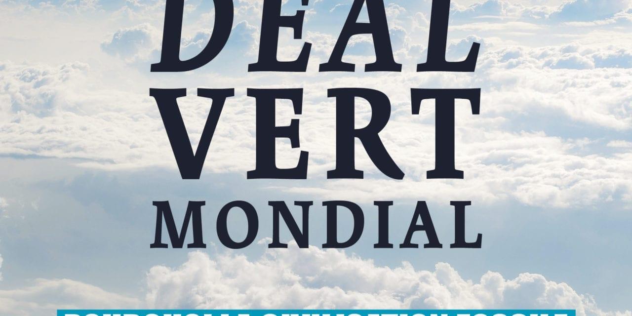 Le New deal vert mondial
