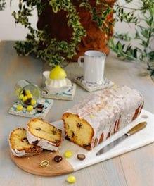 Cake aux citrons confits aux deux chocolats