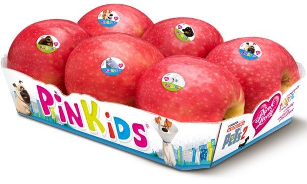 Pinkids, les pommes préférées des enfants