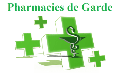 Les pharmacies de garde en un clic!