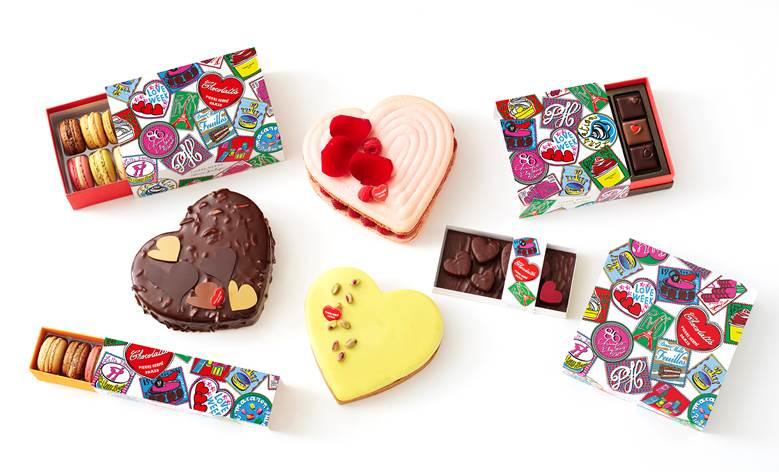 Les créations de Pierre Hermé pour la St Valentin