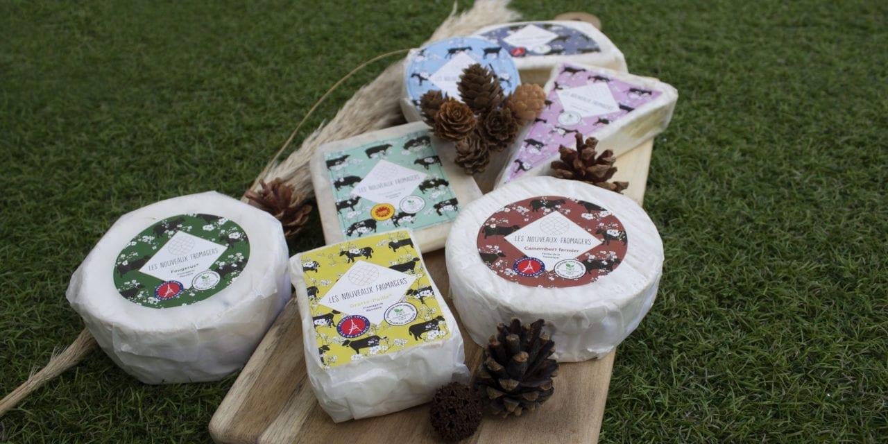 Des fromages aux emballages éco-résponsables