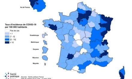 Coronavirus, carte de France des lits de réanimation