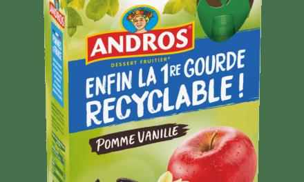 Andros lance la première gourde recyclable