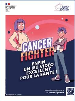 Cancer Fighter le jeu vidéo sur la prévention des cancers pour les 10/12 ans
