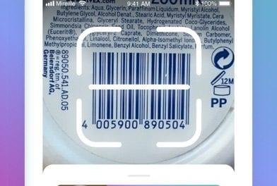 Mireille, la 1ère appli indépendante qui traduit les étiquettes de nos cosmétiques