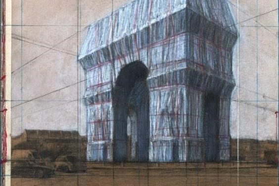 L'Arc de Triomphe empaqueté