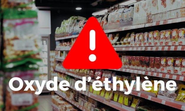 Oxyde d'éthylène dans nos aliments : la situation empire