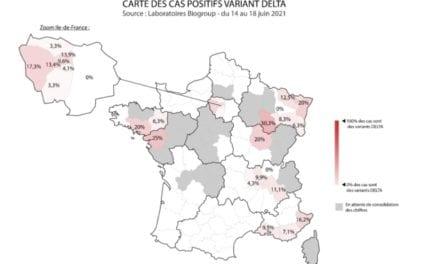 Quelle est la circulation du variant Delta en France ?