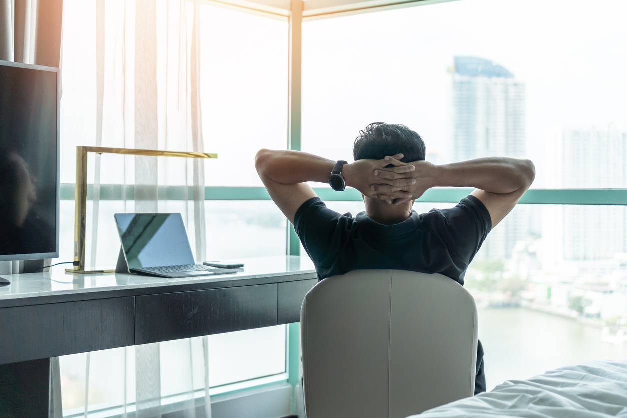relaxation stress au travail