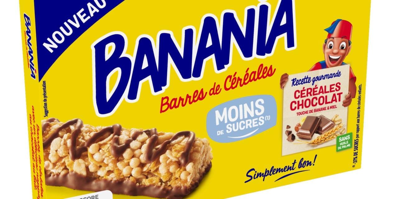 BANANIA lance la 1ère barre de céréales la moins sucrée du marché enfants