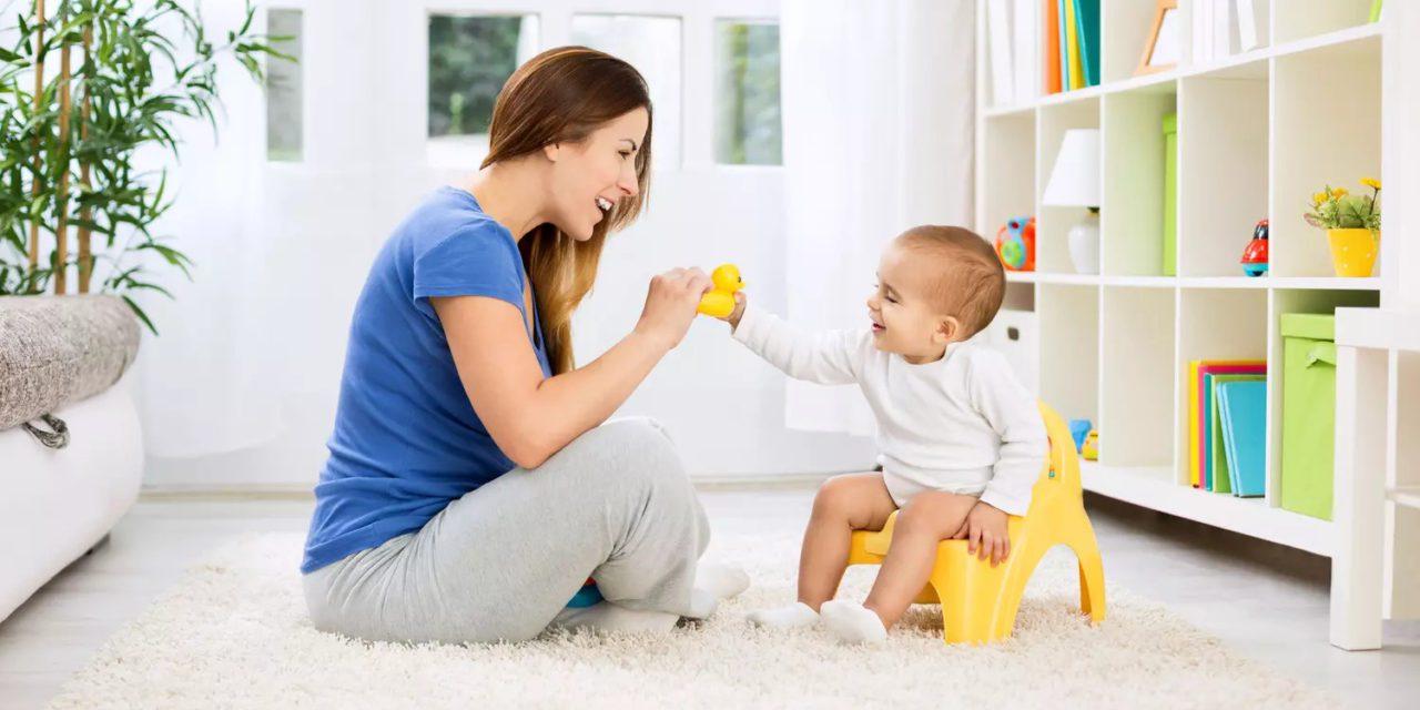 Quand apprendre le pot à bébé ?