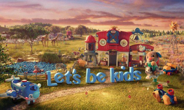 Fisher-Price invite les adultes à redécouvrir le monde avec des yeux d'enfants !