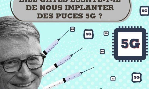 Peut-on vraiment nous injecter une puce 5G avec le vaccin contre la Covid-19 ?